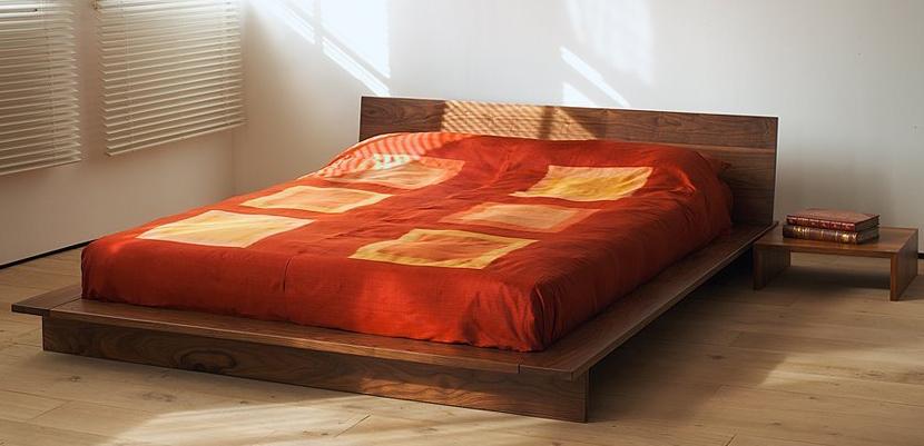 Indian Wooden Storage Bed
