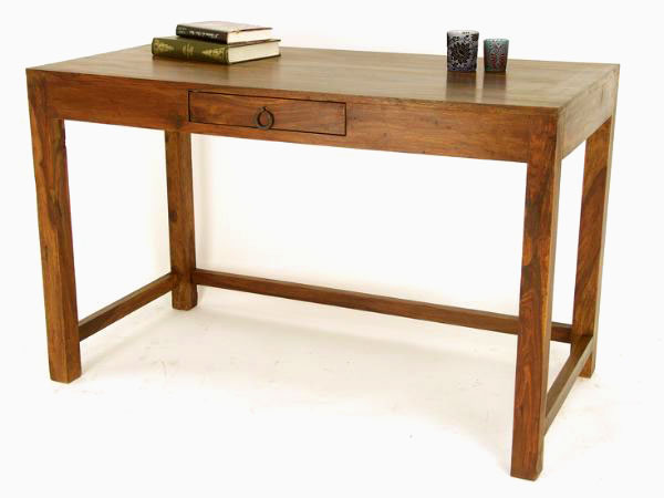 Indian Wooden Office Tables   Solid Wood Sheesham Office Table ...