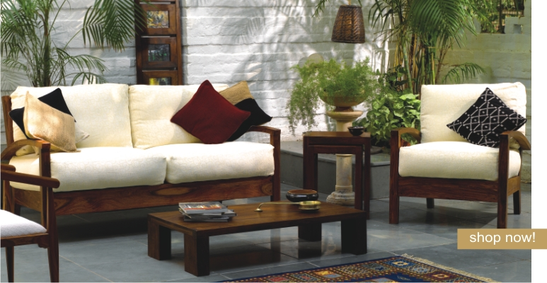 Wooden Sofa Sets India Sheesham Wood Sofa Sets Indian Wooden