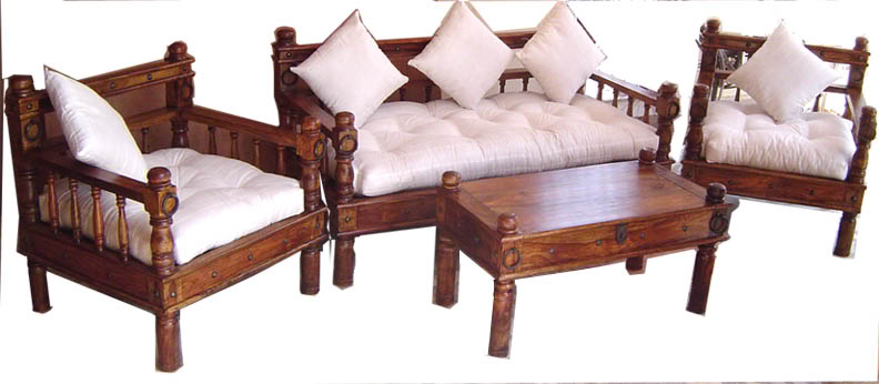 Wooden Sofa Sets India Sheesham Wood Sofa Sets Indian Wooden