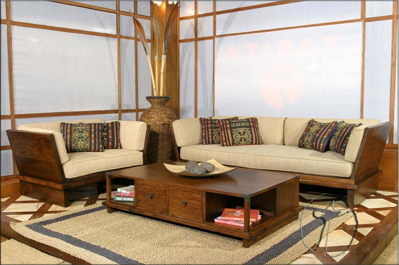 Wooden Sofa Sets India | Sheesham Wood Sofa Sets | Indian ...