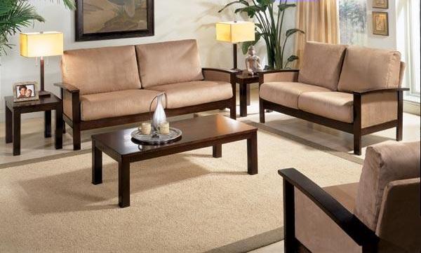 Wooden Sofa Sets India | Sheesham Wood Sofa Sets | Indian ...