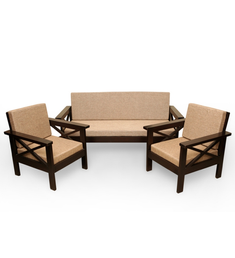 Wooden Sofa Sets Zoom