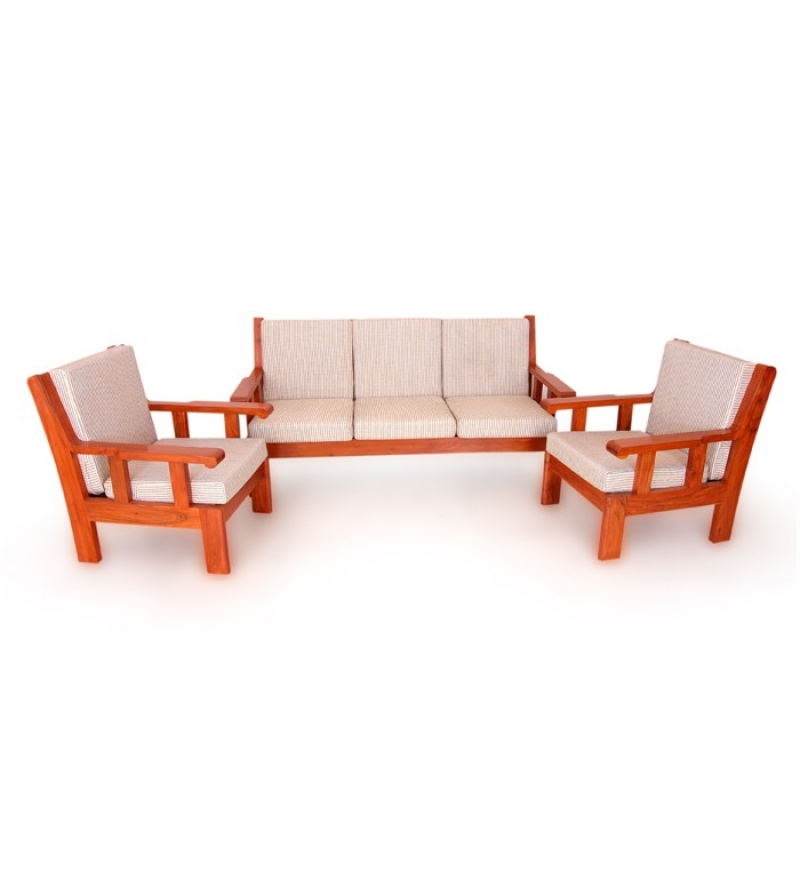 Wooden Sofa Set ~ Wooden sofa sets india sheesham wood indian