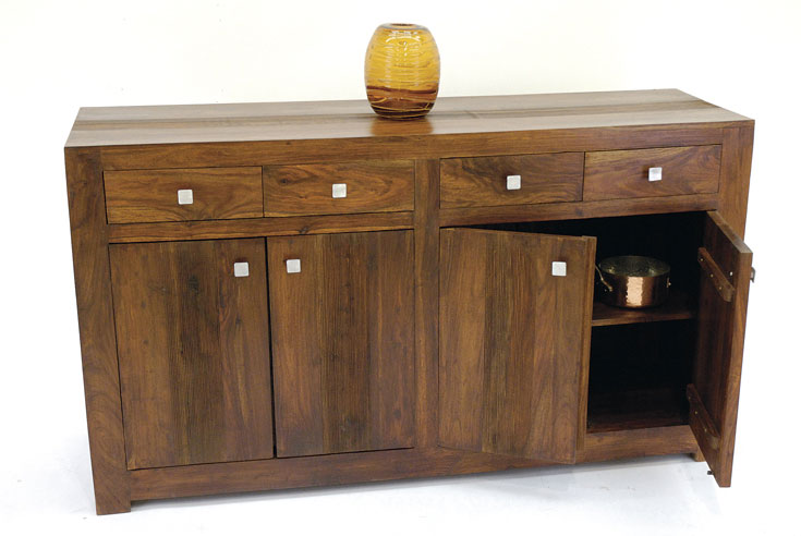 Dining Room Wooden Cabinets Indian Wood Sideboard